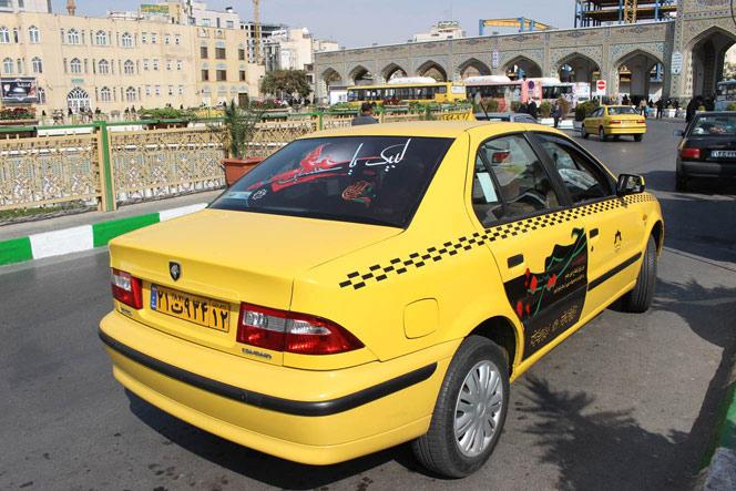 تاکسی های مشهد در ماه محرم– جااینجاس