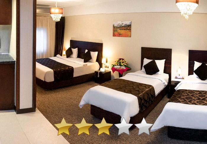 هتل سه ستاره جواهر شرق مشهد