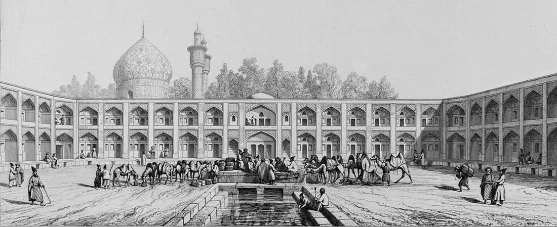 کاروانسرای مادر شاه سلطان حسین صفوی یا همان هتل عباسی امروز