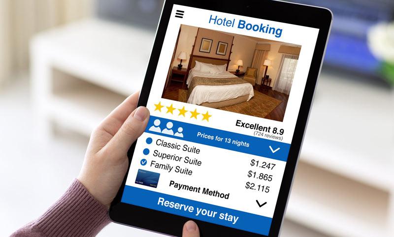 ارزیابی هزینه های رزرو هتل