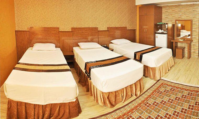 هتل بسطامی مشهد قیمت مناسب