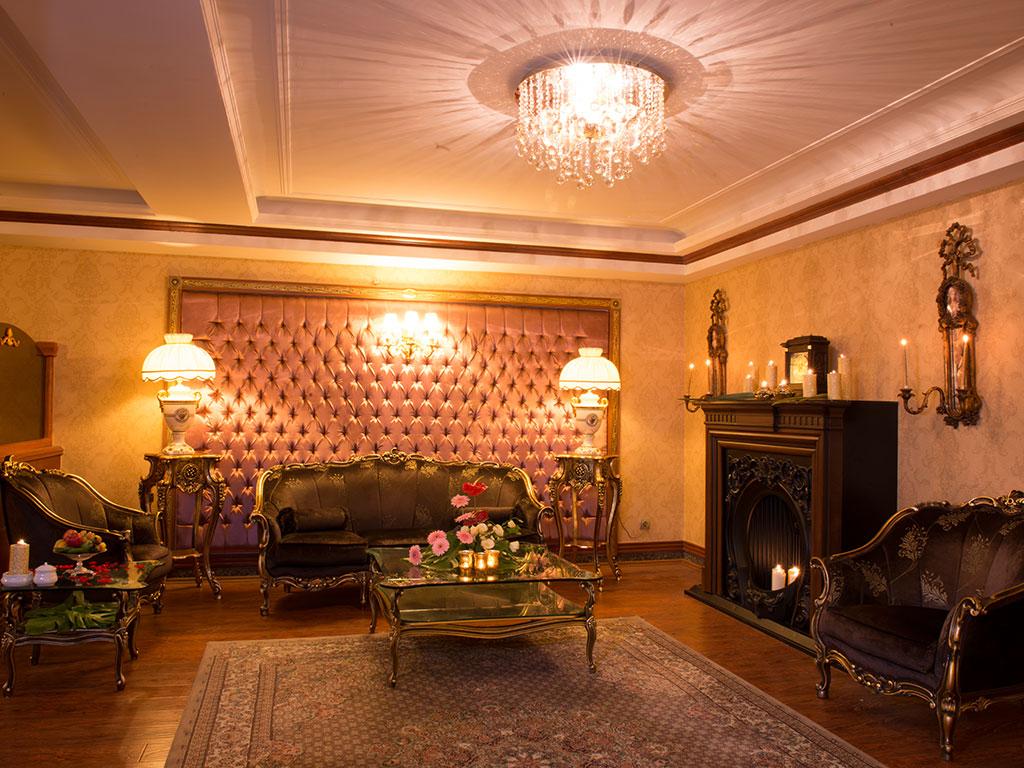سوییت پرزیدنت هتل قصر طلایی مشهد